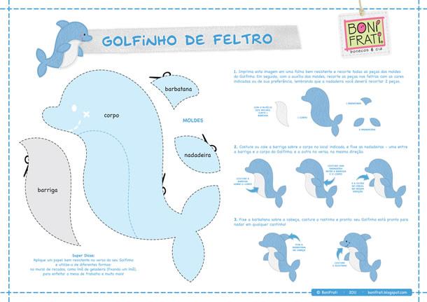 almofada-golfinho-moldes-feltro