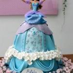 bolo barbie princesa