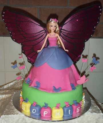 bolo decorado princesa