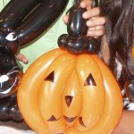 abobora halloween baloes - artesanatobrasil.net