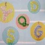 letras com micangas