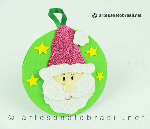 5.enfeite-de-natal-com-CD-passo-a-passo_artesanatobrasil.net