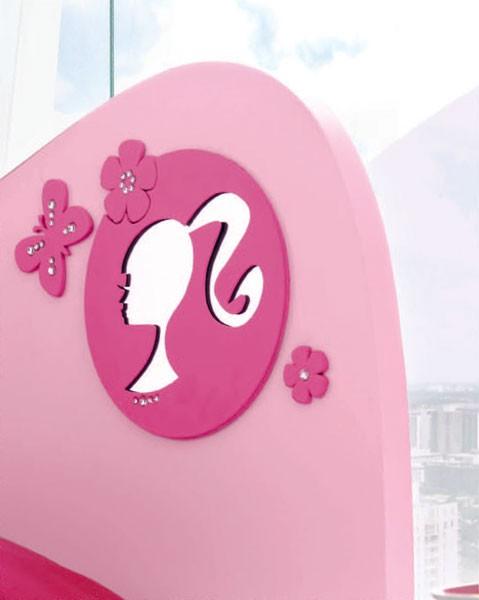Logo da Barbie