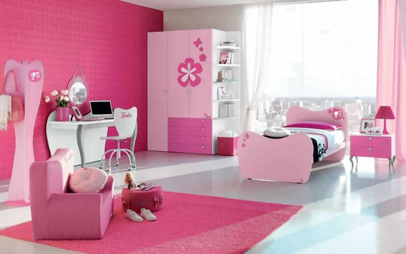 Quarto da Barbie em apartamento