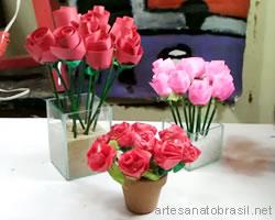 Flores passo a passo