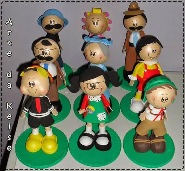 bonecas-3d-em-eva-turma-chaves