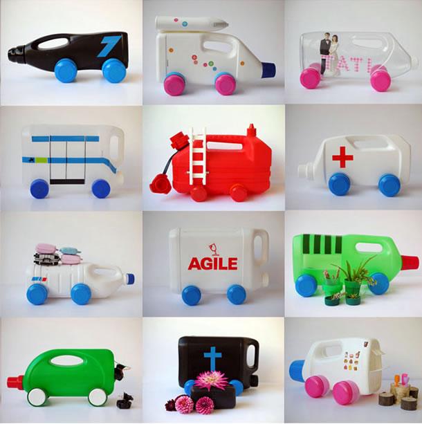 reciclagem-de-embalagens-de-plastico-carrinhos