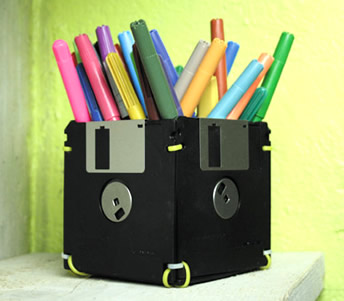 Reciclagem disquetes