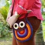 bolsa coruja croche