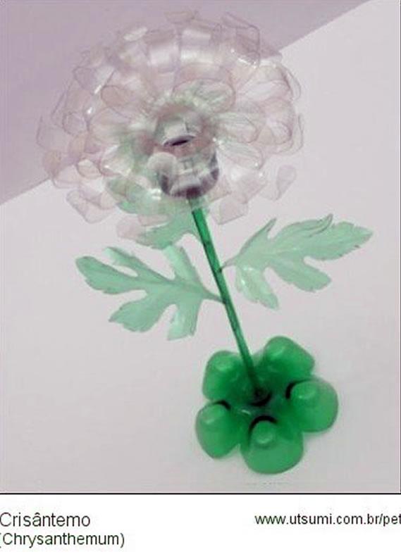 crisantemo-de-garrafa-pet