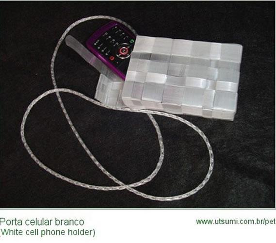 porta-celular-de-garrafa-pet