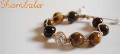 pulseira artesanal shambala