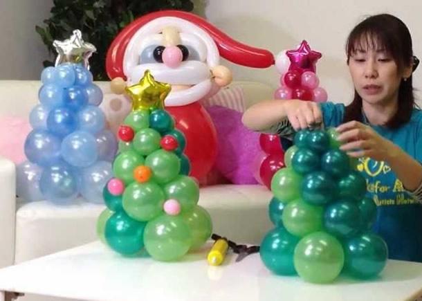 decoracao-de-natal-simples-arvore-baloes