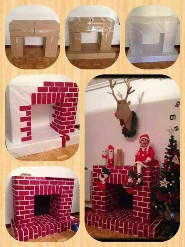 enfeites-natalinos-reciclaveis-lareira-caixa