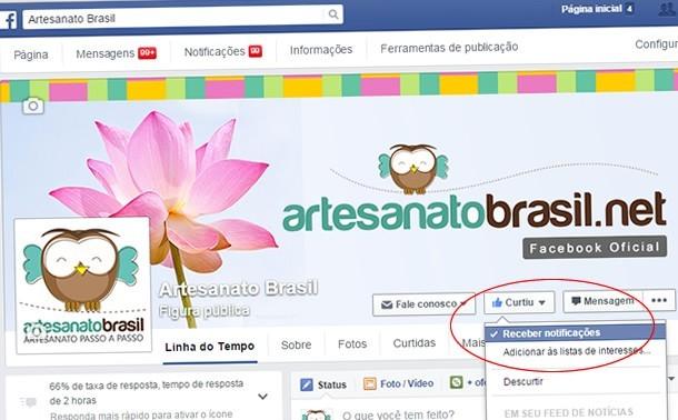 Artesanatobrasil.net Facebook Oficial