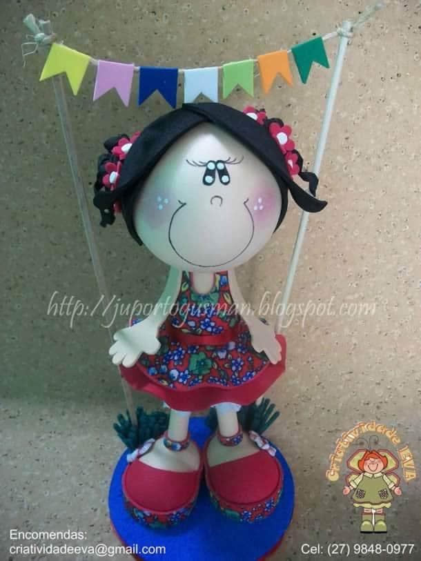 boneca-em-eva-fofucha-caipira-1