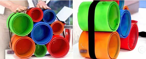 Reciclagem de latas passo a passo