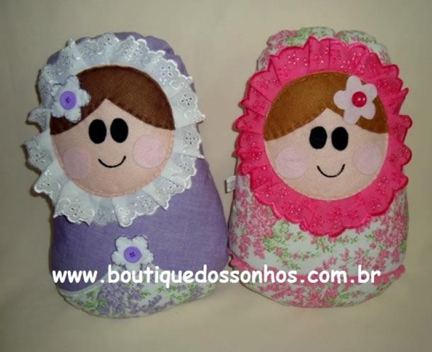 boneca-matrioska-almofada-feltro