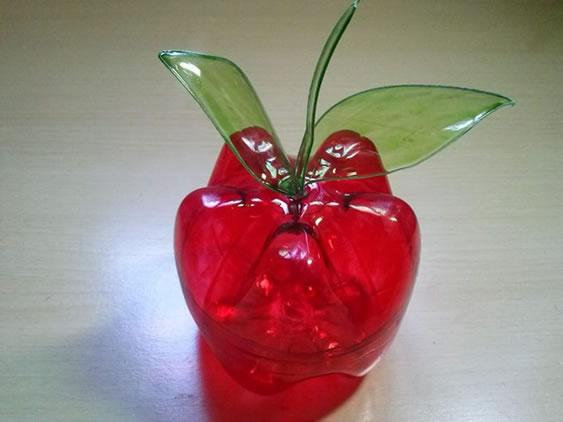 Como fazer uma maçã de garrafa