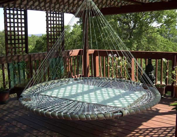 Esquema da rede flutuante ou cama flutuantes