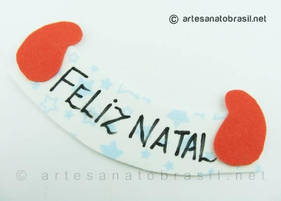 4.pintar-placa-feliz-natal-lembrancinha-garrafa-pet-Papai-Noel