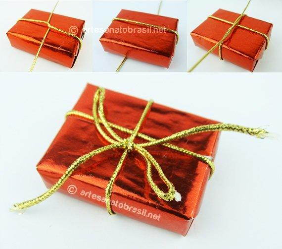 Pronta-Caxinha-presente-caixa-de-fosforo-Enfeite-de-Natal