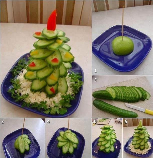 decoracao-de-pratos-bandejas-de-alimentos-para-natal-arvore-pepino