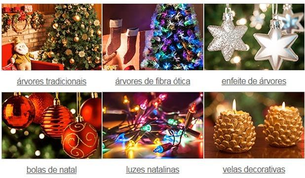 7 sites para comprar árvore de Natal, Enfeites e Presentes para o Natal