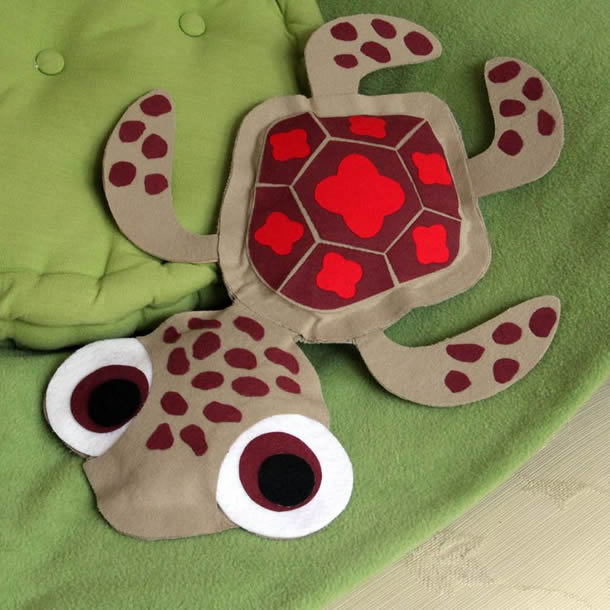 molde-almofada-tartaruga-nemo
