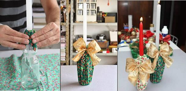artesanato-com-garrafa-de-vidro-castical