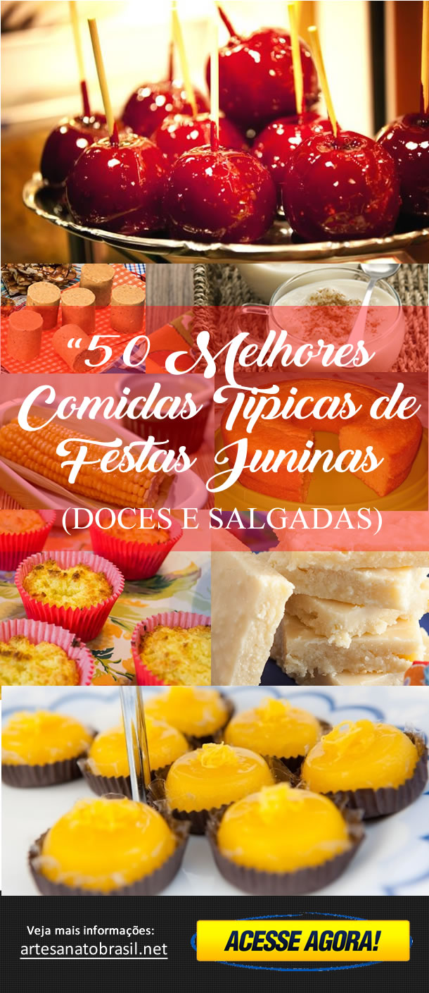 Comidas Juninas (PINTEREST)