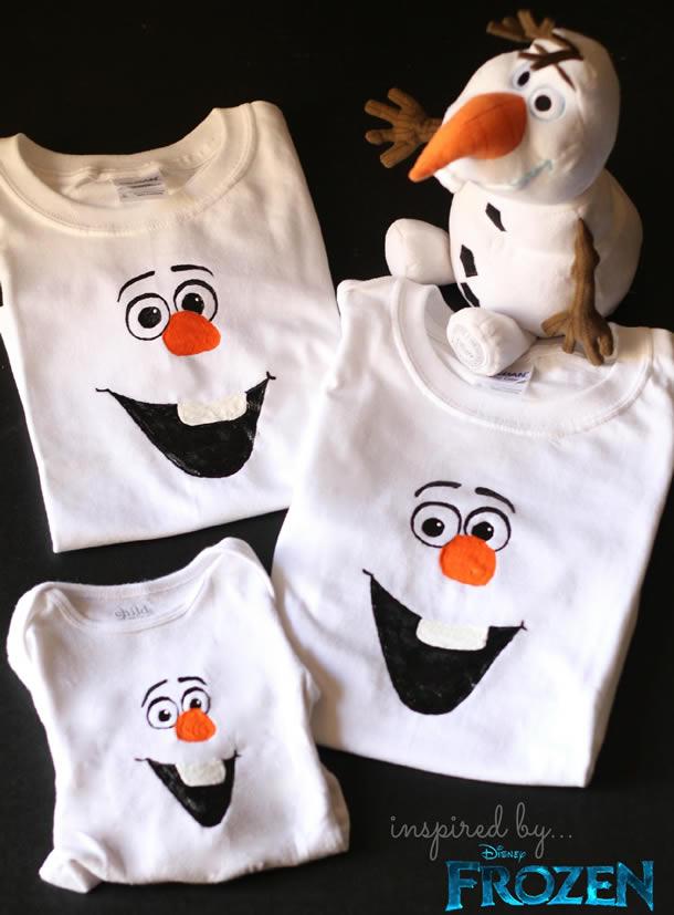festa-frozen-camisa-olaf