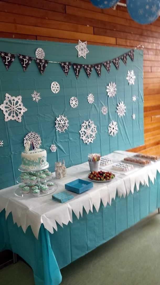 festa-frozen-mesa-decorada