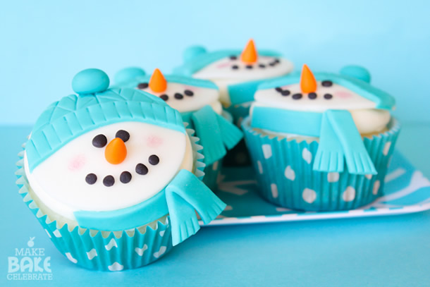 cupcake-de-natal-boneco-neve