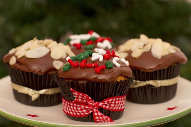 cupcake-de-natal-chocolate