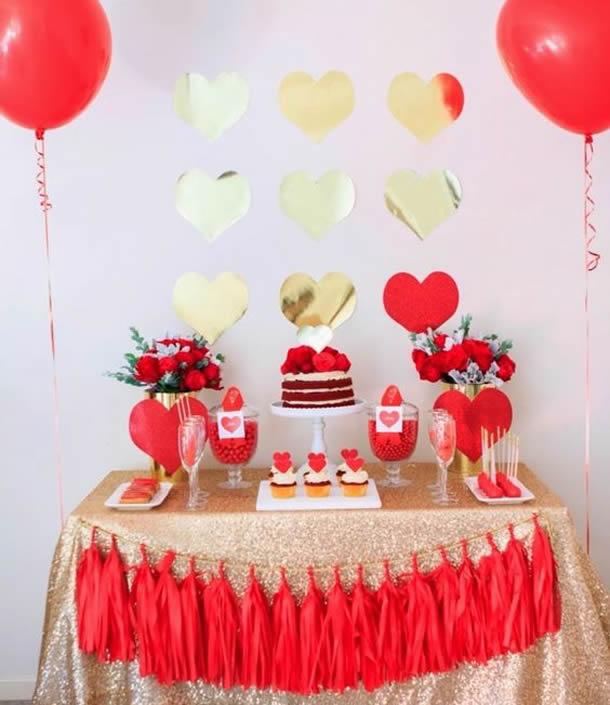 Decoração: Mesa Decorada nas Bodas de beijinho