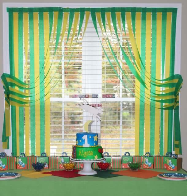cortina-de-papel-crepom-verde-amarelo