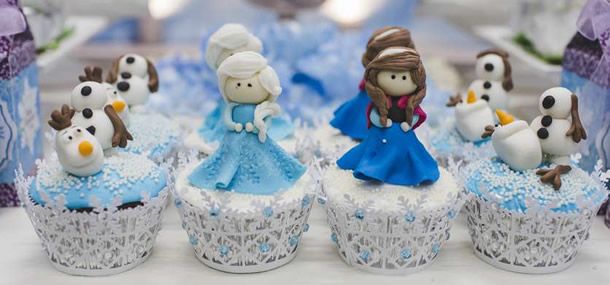 cupcake-frozen-personagens