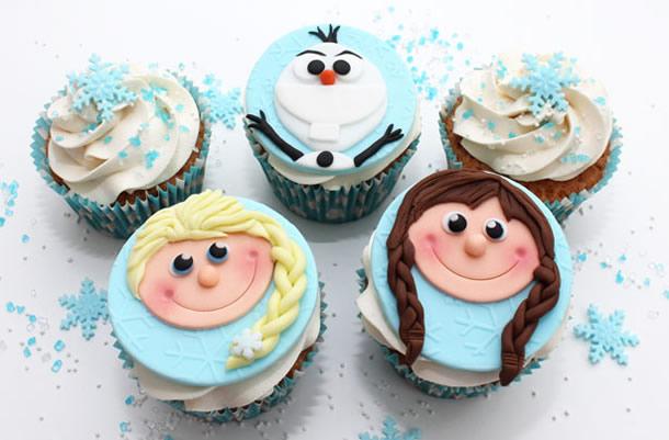 cupcake-frozen-rostinhos
