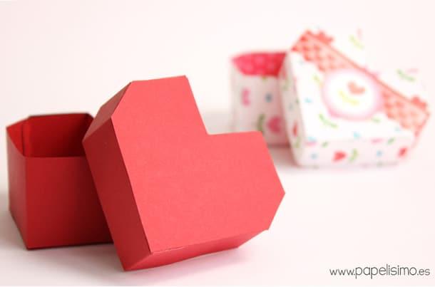 como-fazer-caixa-presente-coracao