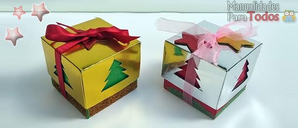 como-fazer-caixa-presente-natalinas