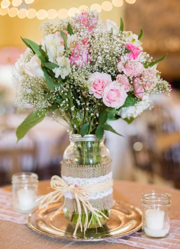 centro-de-mesa-para-casamento-potes-romantico