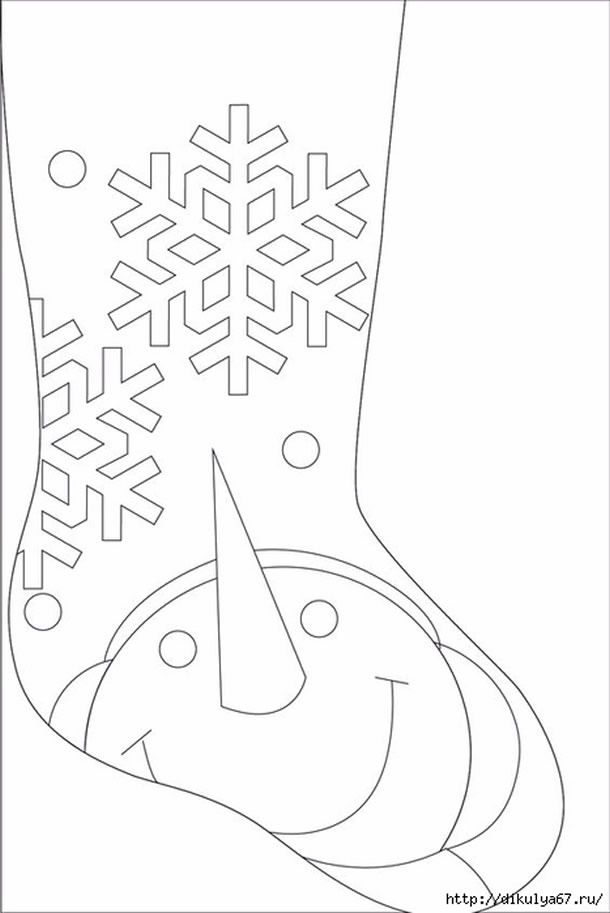 meias-de-natal-boneco-neve