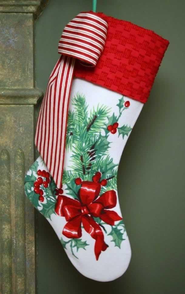 meias-de-natal-floral