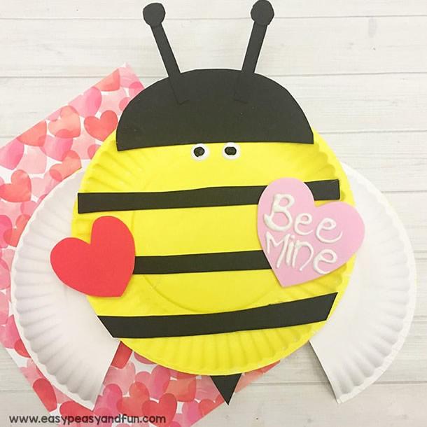animais-de-papel-abelha-prato