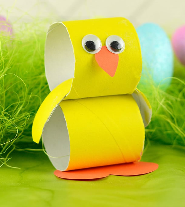 animais-de-papel-pintinho-rolos