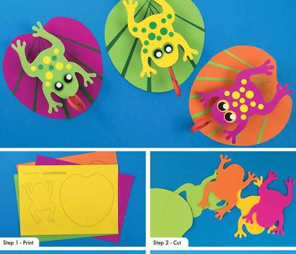 animais-de-papel-sapo-folha