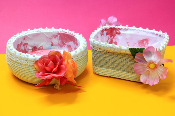 artesanato-com-potes-de-margarina-cestas