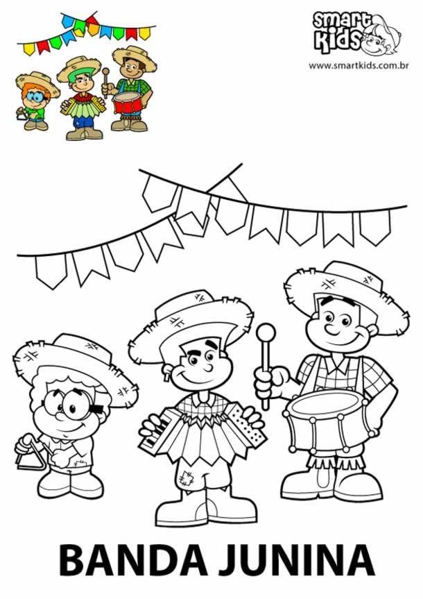 atividades-junina-infantil-banda
