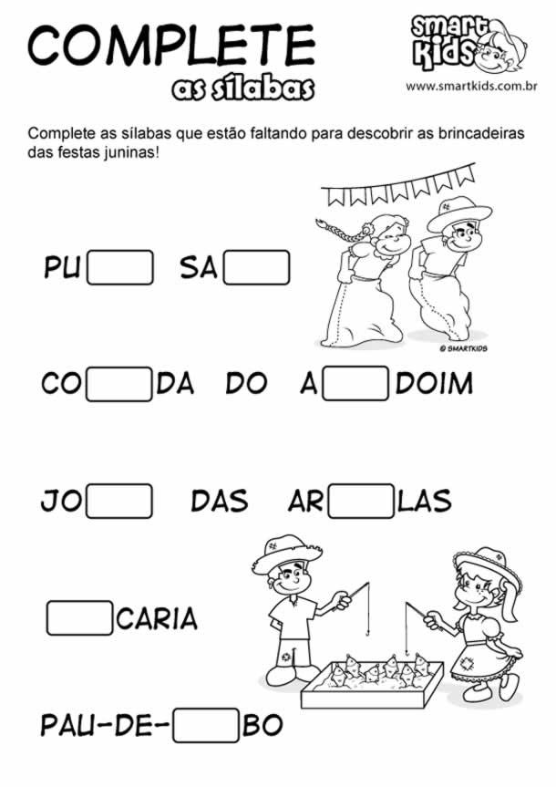 atividades-junina-infantil-silabas